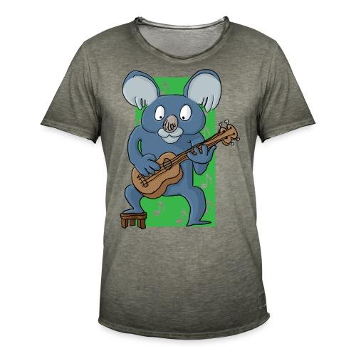 La koala ukuléliste - T-shirt vintage Homme