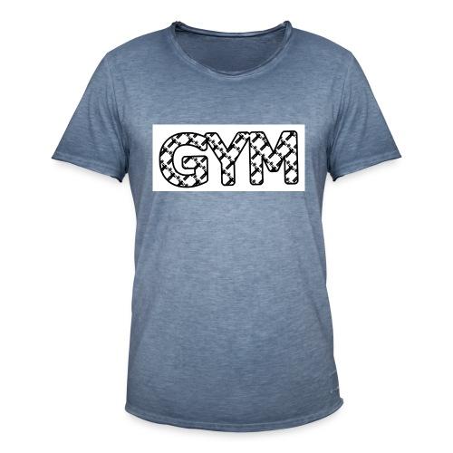 gym - Männer Vintage T-Shirt