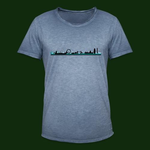 London - Männer Vintage T-Shirt