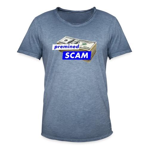premined SCAM - Men's Vintage T-Shirt