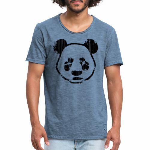 Panda - Mannen Vintage T-shirt