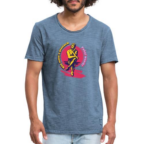Wyniki wyniki - Koszulka męska vintage