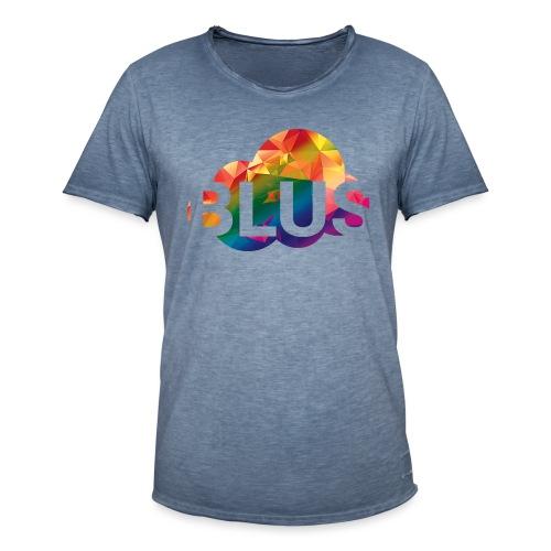 BURNER Logo - Men's Vintage T-Shirt