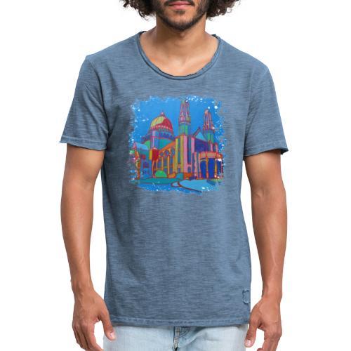 Bruessel - Männer Vintage T-Shirt