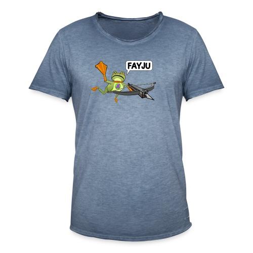 Amazing Frog Crossbow - Men's Vintage T-Shirt