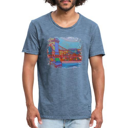 Budapest - Männer Vintage T-Shirt