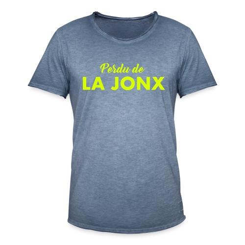 perdu de la jonx - T-shirt vintage Homme