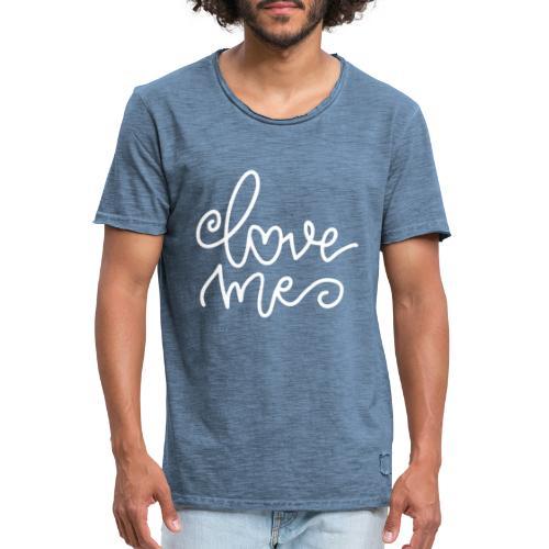 Love Me - Männer Vintage T-Shirt