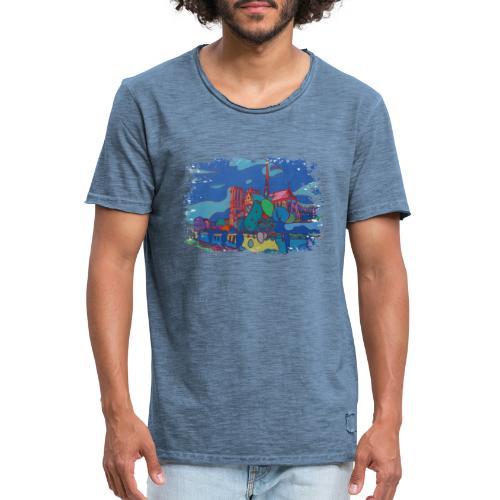 Paris - Männer Vintage T-Shirt