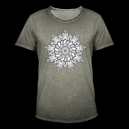 Mandala - Maglietta vintage da uomo