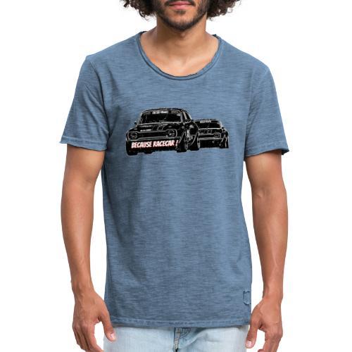 Racecar - T-shirt vintage Homme