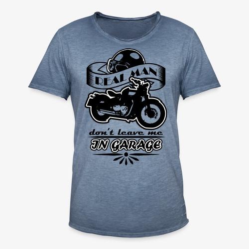 biker style - Maglietta vintage da uomo