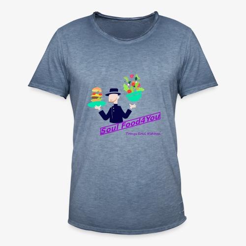 SoulFood4You - Männer Vintage T-Shirt