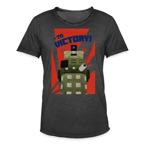 Dalek Mod - To Victory - Men's Vintage T-Shirt