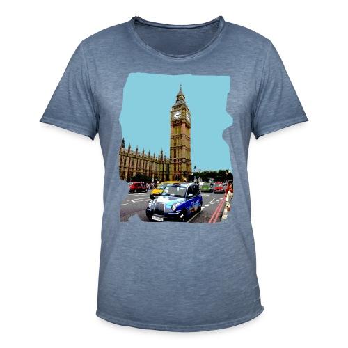 London BigBen - Mannen Vintage T-shirt
