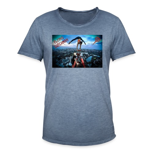 DC-Tower Vienna - Flying Dutchman & Milli-Artist - Männer Vintage T-Shirt