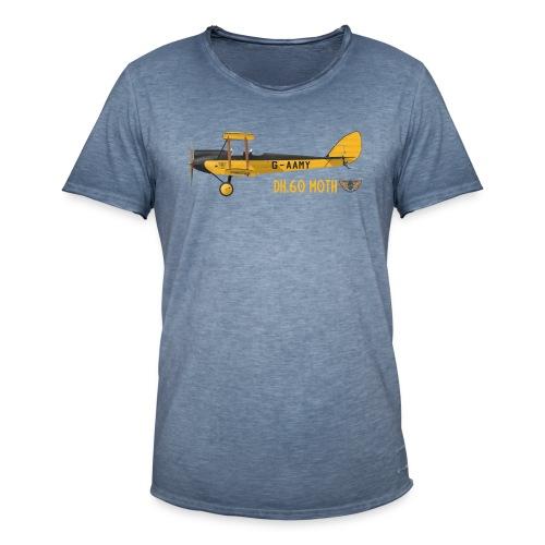 DH60 Moth - Men's Vintage T-Shirt