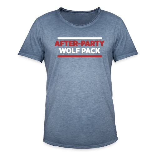 OFFICIAL AFTER-PARTY WOLFPACK MERCH - Men's Vintage T-Shirt