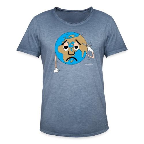 mundo suicida world - Camiseta vintage hombre