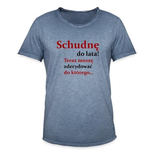 Fit - Koszulka męska vintage