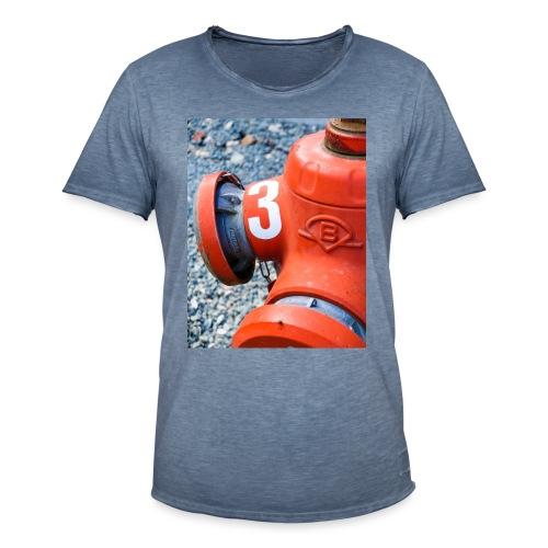 Hydrant - Männer Vintage T-Shirt
