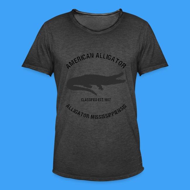 American Alligator black