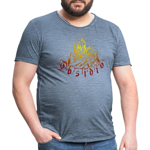 Obsidio Feuer - Männer Vintage T-Shirt