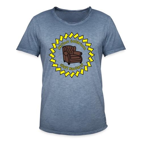 Solarium statt Hautarzt - Männer Vintage T-Shirt