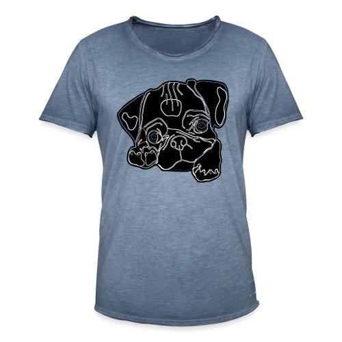 Pug Face - Men's Vintage T-Shirt