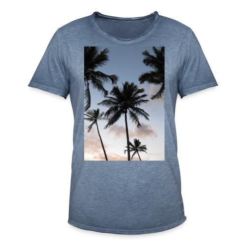PALMTREES DOMINICAN REP. - Mannen Vintage T-shirt