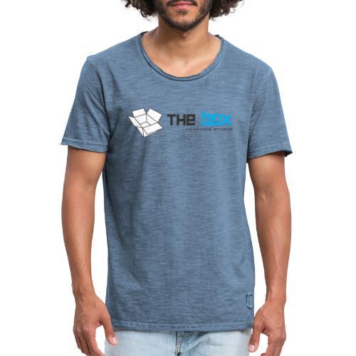 The Box Learning Studio Logo - Men's Vintage T-Shirt