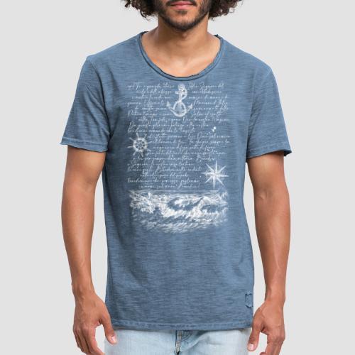 Preghiera del marinaio - Maglietta vintage da uomo