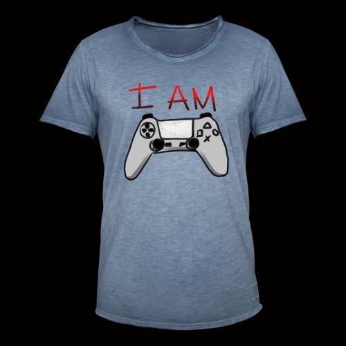 yo soy un gamer - Camiseta vintage hombre