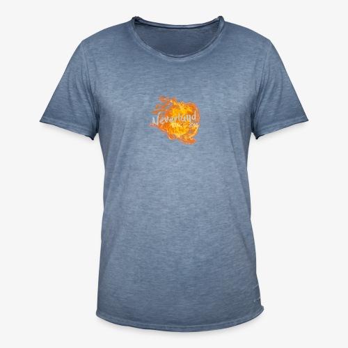 NeverLand Fire - Mannen Vintage T-shirt
