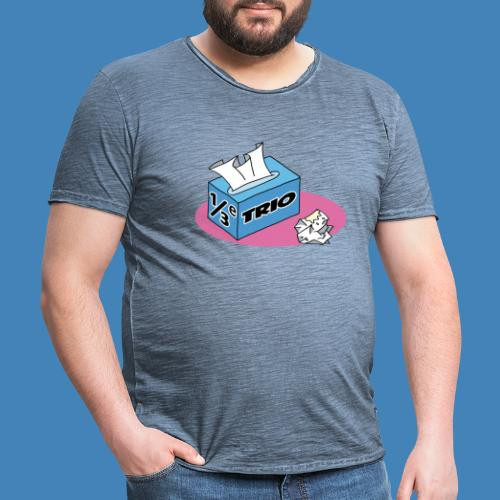 1/3e Trio - Mannen Vintage T-shirt