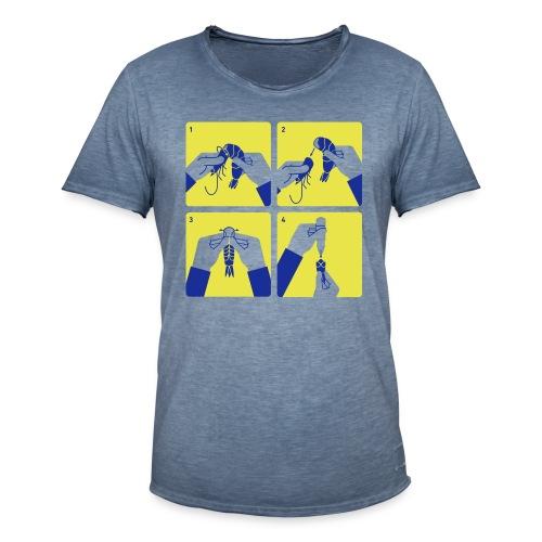 peel shrimp - Men's Vintage T-Shirt