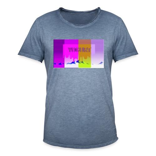 vaporwave yogurth - Maglietta vintage da uomo