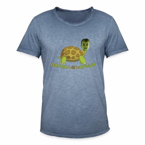 T-shirt Peron la tortue classique - T-shirt vintage Homme