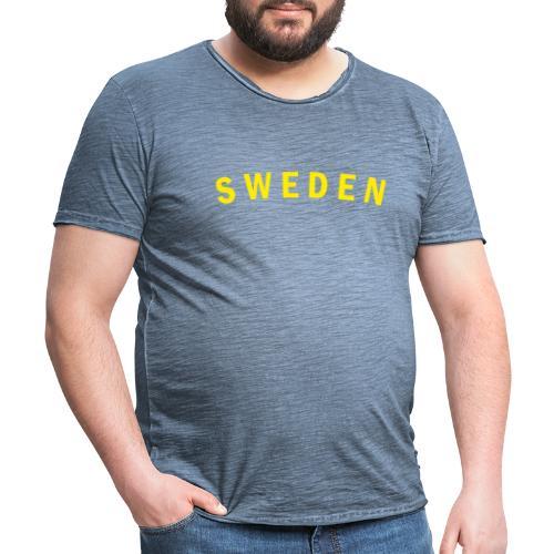 sweden - Vintage-T-shirt herr