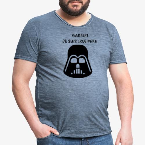 JE SUIS TON PERE - T-shirt vintage Homme