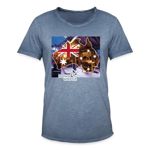 Crew Outside NightLook - Männer Vintage T-Shirt