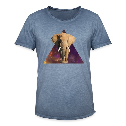 Elephant - Maglietta vintage da uomo
