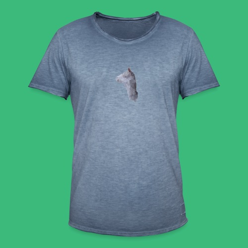 Lama KristalArt / alle kleuren - Mannen Vintage T-shirt