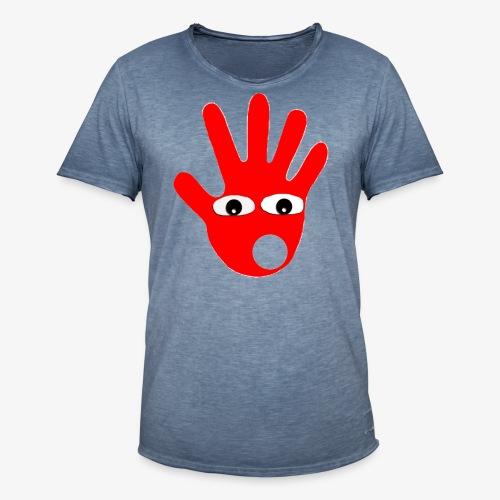 Hände mit Augen - T-shirt vintage Homme