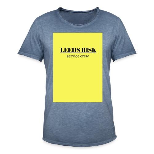 leeds risk - Men's Vintage T-Shirt