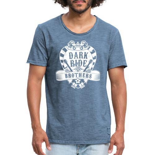 Dark Ride Brothers - Miesten vintage t-paita