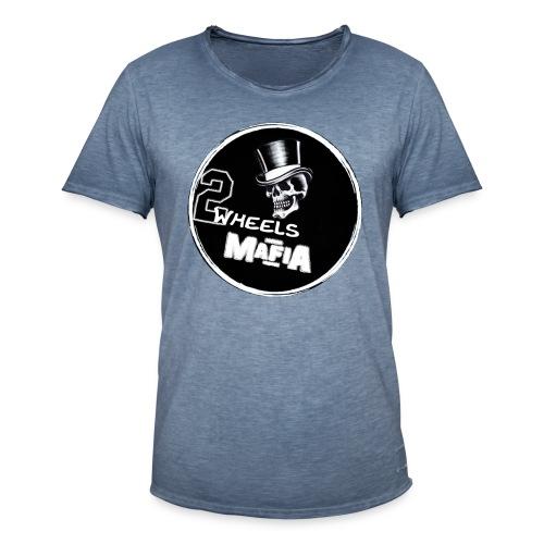 2WheelsMafia - Männer Vintage T-Shirt
