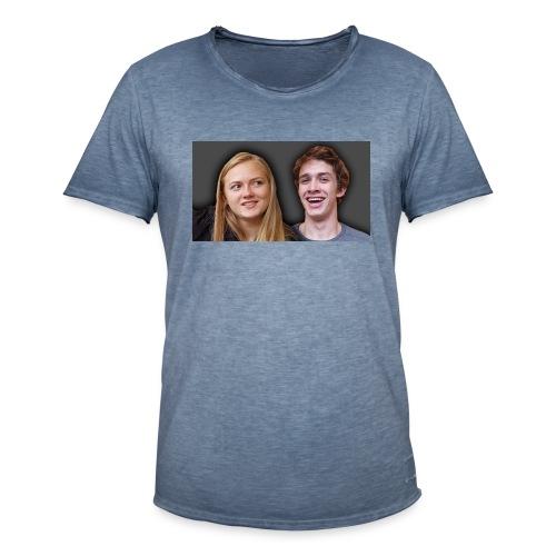 Profil billede beska ret - Herre vintage T-shirt
