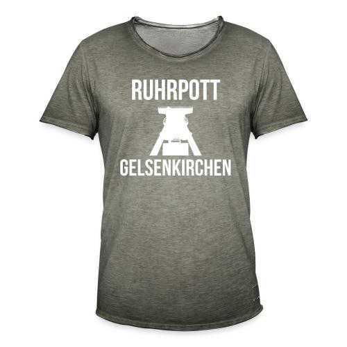 RUHRPOTT GELSENKIRCHEN - Deine Ruhrpott Stadt - Männer Vintage T-Shirt