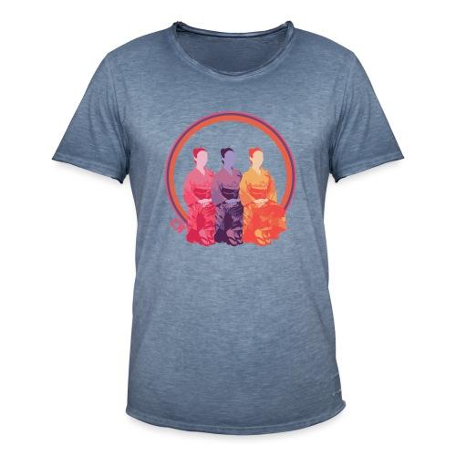 CR - Neon Kimono - Camiseta vintage hombre